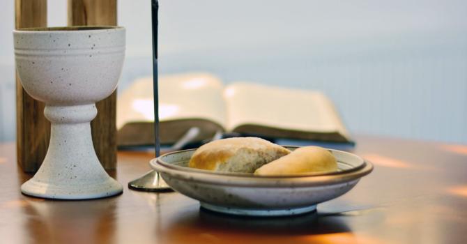 October 3 Online Communion