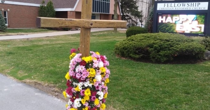 Good Friday and Easter Sunday worship services image