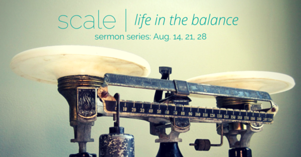 SCALE - life in the balance