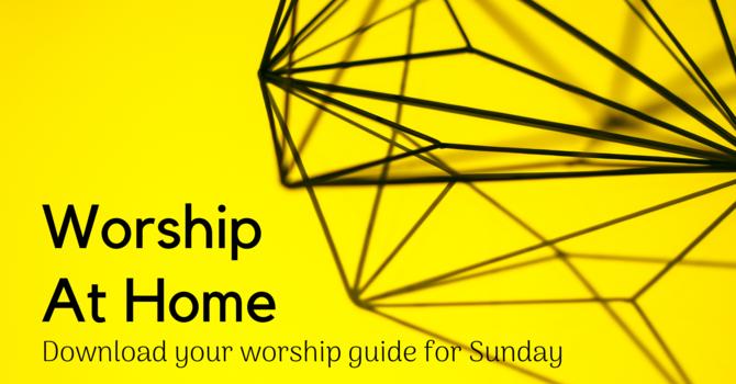 Sunday Worship Guide image