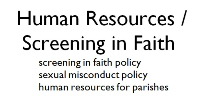 HR / Screening in Faith