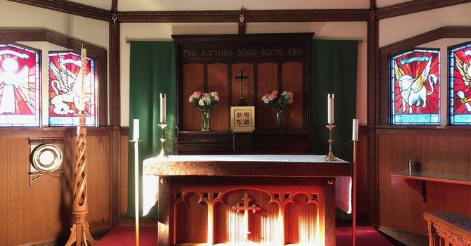 Resumption of  10 am Holy Communion September 20 image