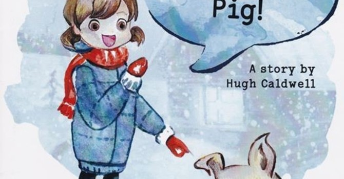 """""""It's Not My Pig"""" Book and Fundraiser image"""