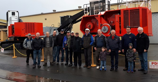Men's Tour of Nicholson Manufacturing