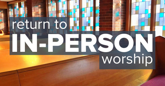 In-person Worship Services image