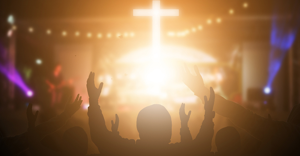 Worship Service - Main Sanctuary (50) / Internet