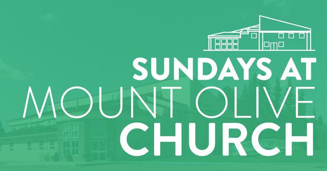 Sundays at Mount Olive Church image