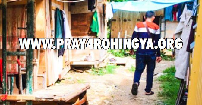 Pray for Rohingya & Malaysia image
