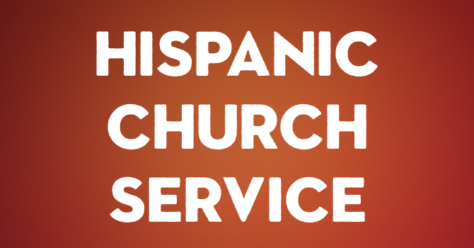 Hispanic Church Service