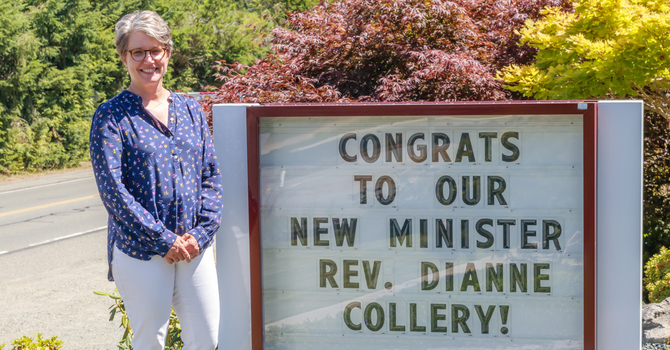 Announcing our new Minister - Rev. Dianne Collery image