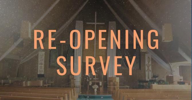 Re-Opening Survey image