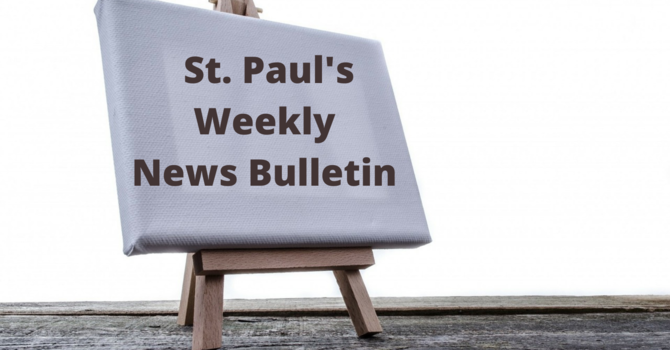 St. Paul's September 20th News Bulletin image