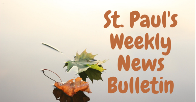 St. Paul's Weekly News Bulletin image