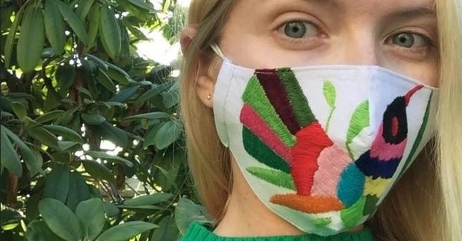 Beautiful masks from an international partnership image