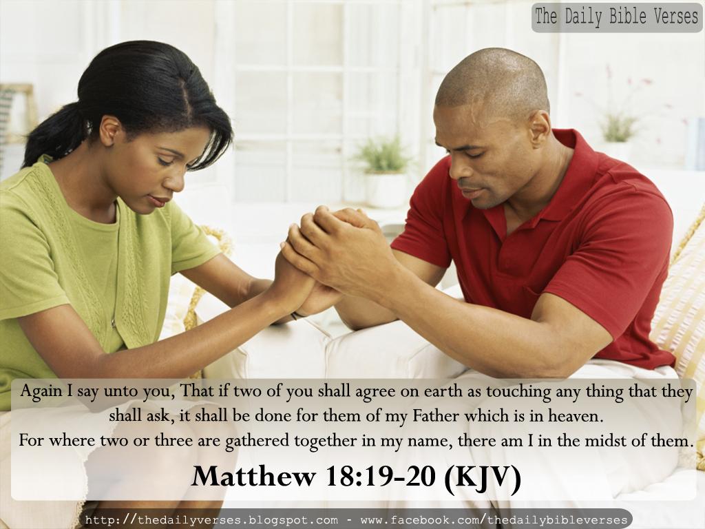 Matthew 18 19 kjv