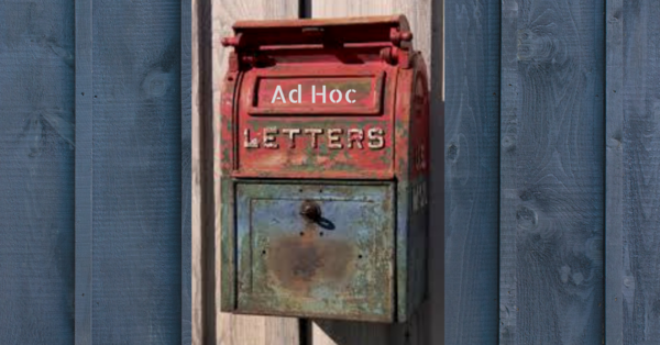 Ad Hoc Letters