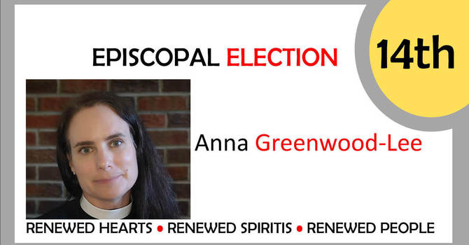 Welcome, Bishop-Elect Anna Greenwood-Lee image