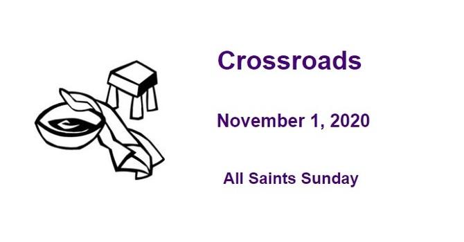 Crossroads November 1, 2020 image