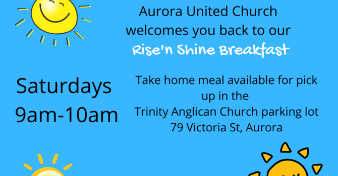 Rise and Shine Take Home Meal