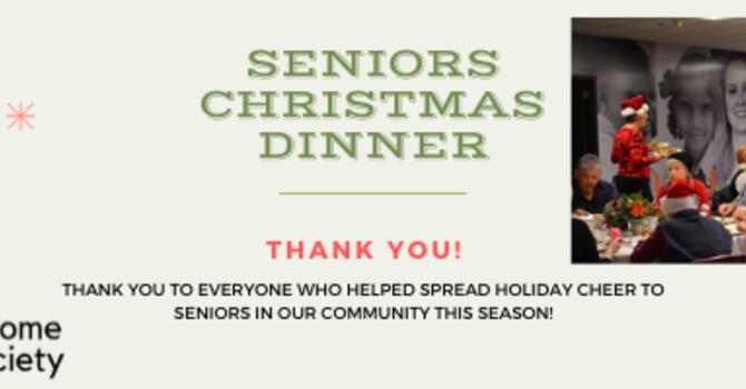 2019 Seniors Christmas Dinner image