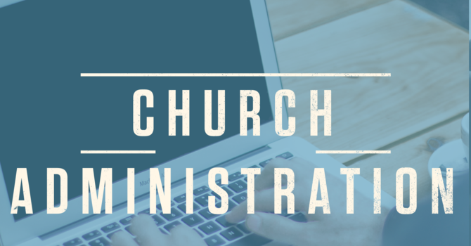 For Church Administration