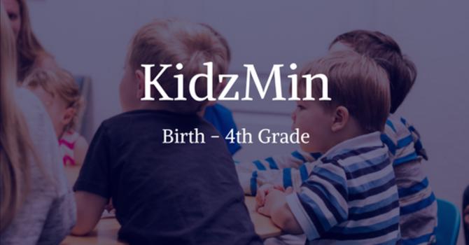 KidzMin Ministry