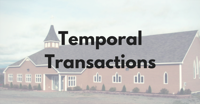 Temporal Transactions
