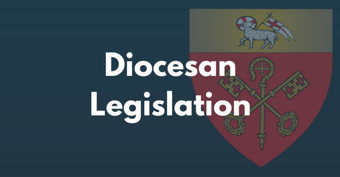 Diocesan Legislation