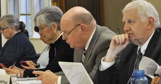Who is on the Diocesan Council?