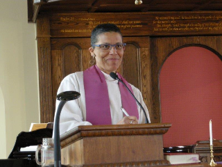 The Rev. Thérèse  Samuel