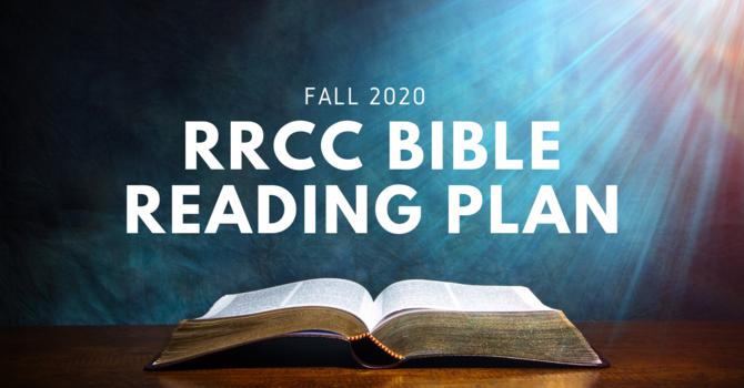 RRCC BIBLE READING PLAN image