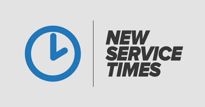 Services starting at a new time