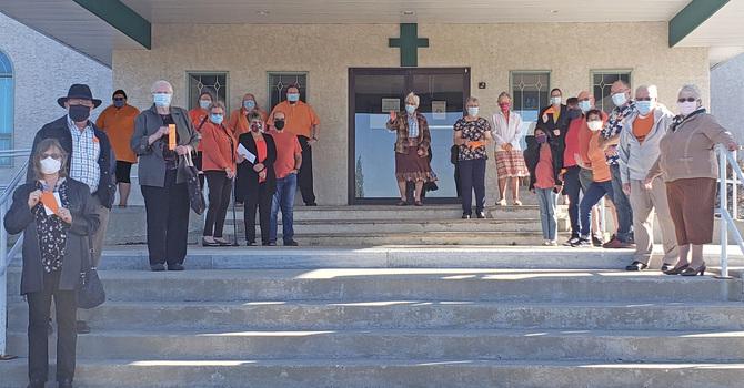 Orange Shirt Day in Drayton Valley image