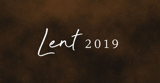 Lent 2019 image