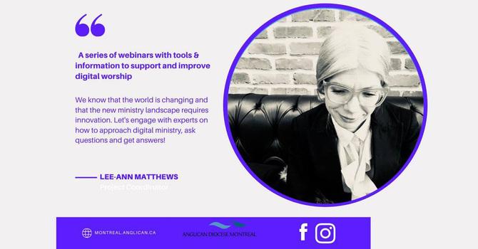 Digital Worship Tools Webinar Series