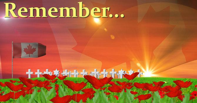 Remembrance Sunday 9am service