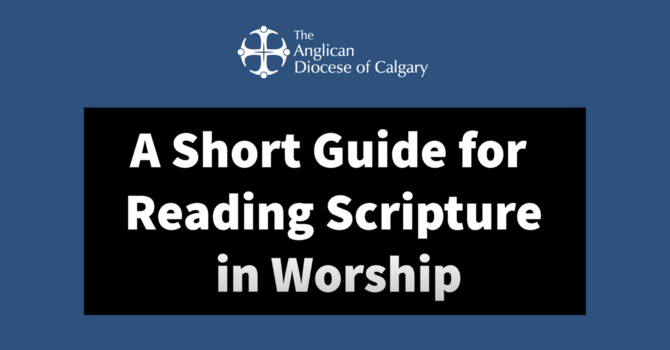 A Short Guide to Reading Scripture in Worship image