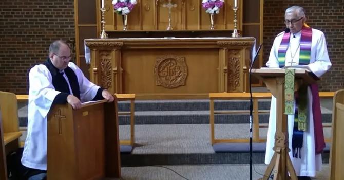 Bishop Sidney Black's prayer and homily image
