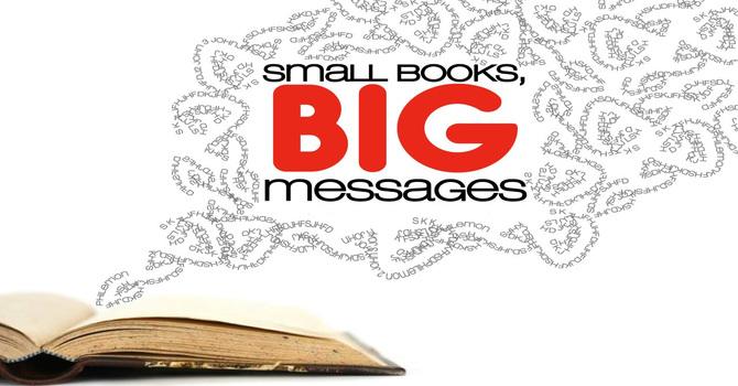 Small Books Big Message | Imitation