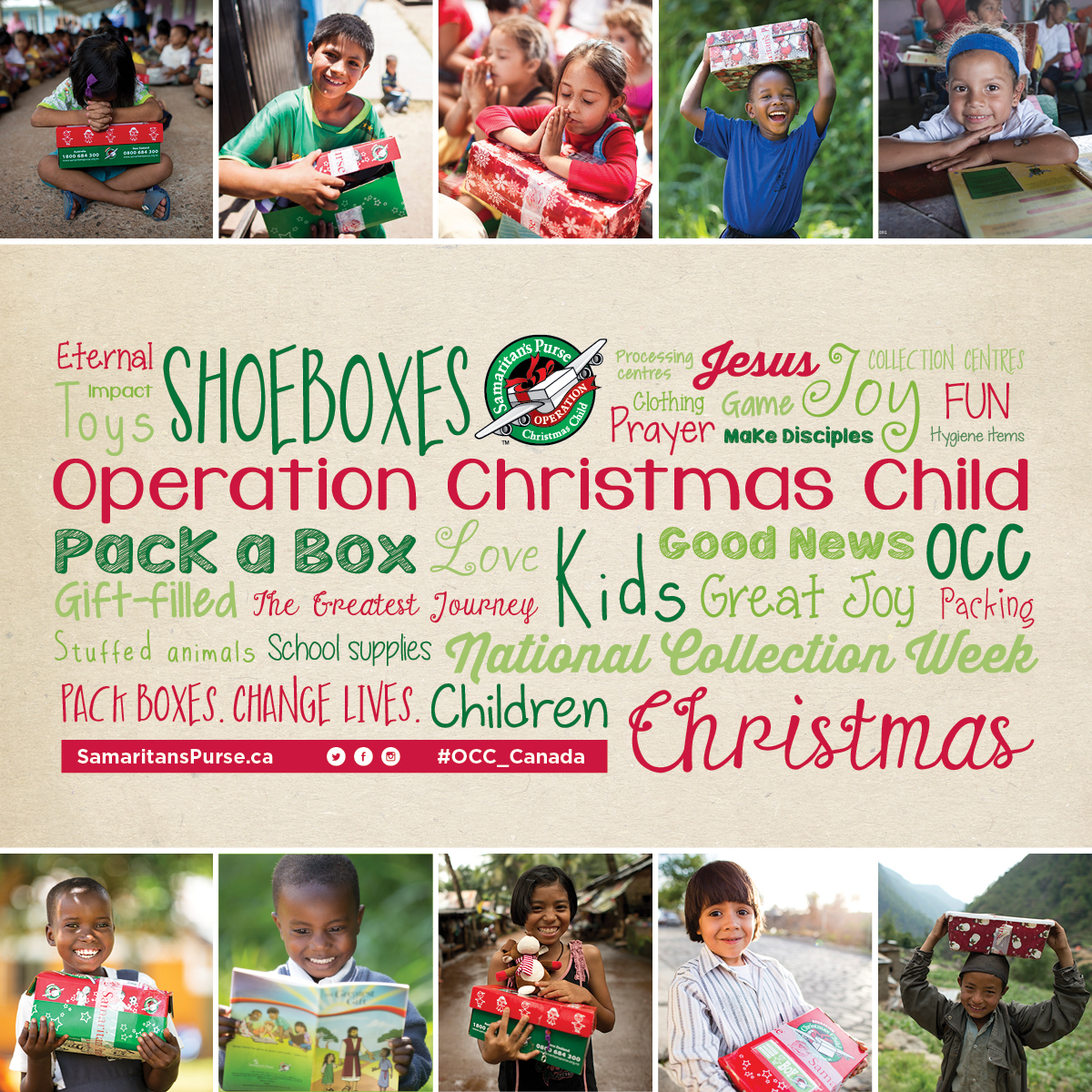 Operation Christmas Child.Operation Christmas Child Shoebox On Mission Kamloops