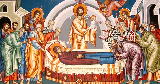 The Feast Of The Dormition Of The Theotokos image