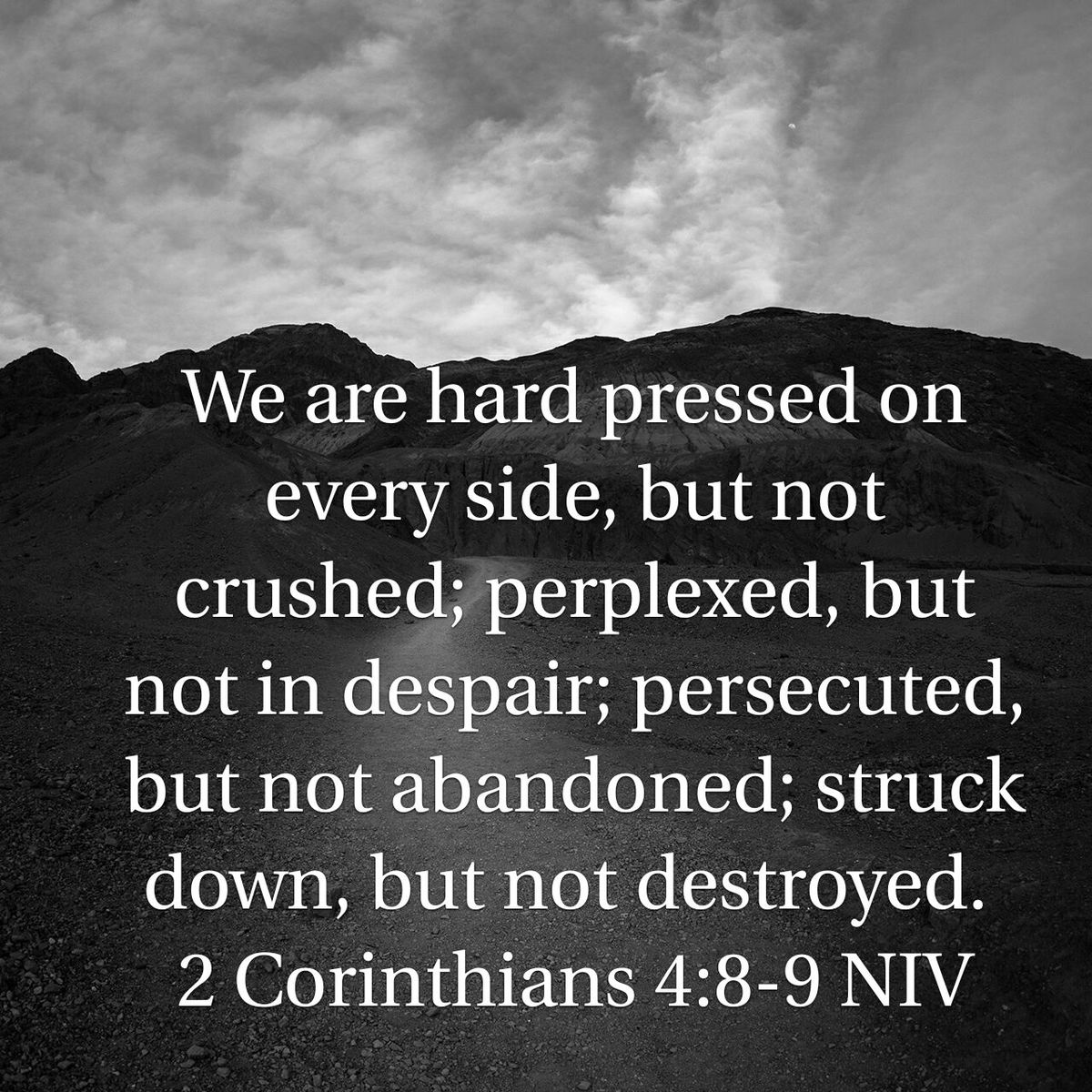 Standing Firm Together - 2 Corinthians 4:8-12 - Resilience