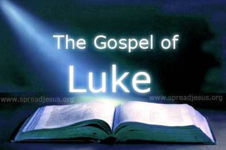 Bible Study!  Luke's Gospel!