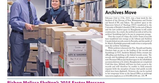 April 2015 Topic image