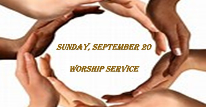 Sunday, September 20 Worship Service image
