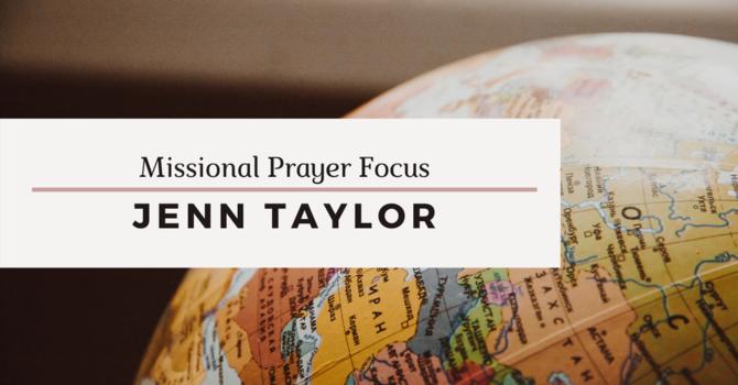 Missional Prayer Focus · April 5, 2020