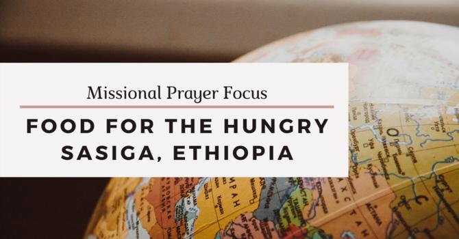 Missional Prayer Focus · May 17, 2020 image
