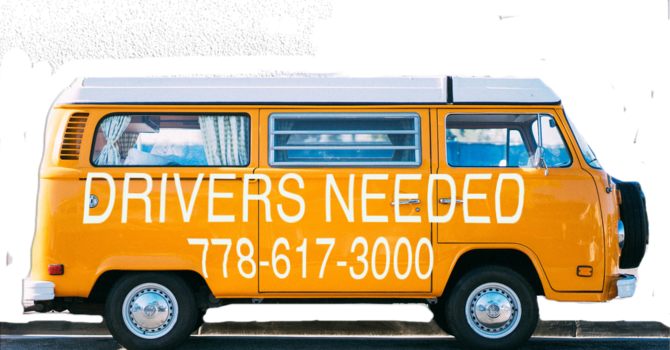 DRIVERS NEEDED image