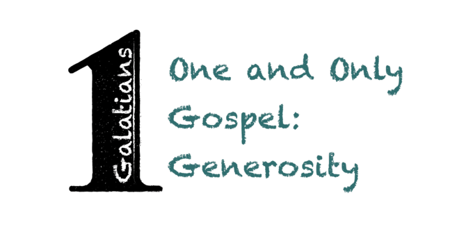 One and Only: Generosity