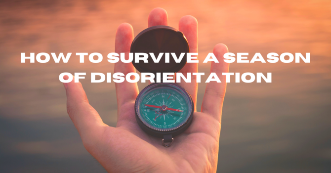 How to Survive a Season of Disorientation